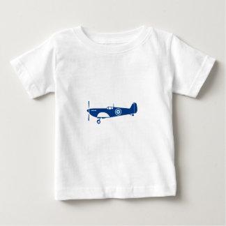 World War 2 Fighter Plane Spitfire Retro Baby T-Shirt