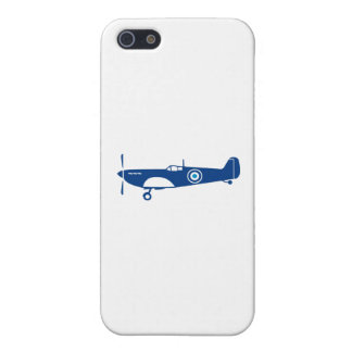 World War 2 Fighter Plane Spitfire Retro iPhone 5/5S Cover