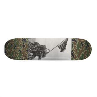 world war 2 Iwo Jima marines skate deck