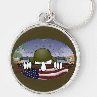 World War 2 Kilroy Keychain
