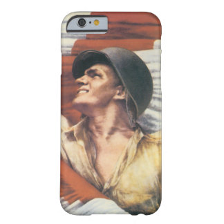 World War 2 Soldier Barely There iPhone 6 Case