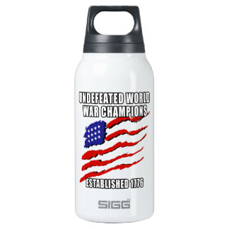 World War Champions SIGG Thermo 0.3L Insulated Bottle