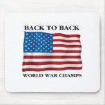 World War Champs Mousepads