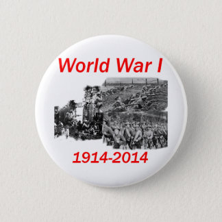 World War I (1914-2014) 2 Inch Round Button