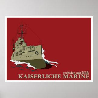 World War I  German Propaganda Poster (Custom)