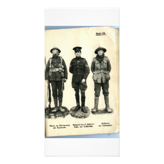 World War I Uniforms Photo Cards