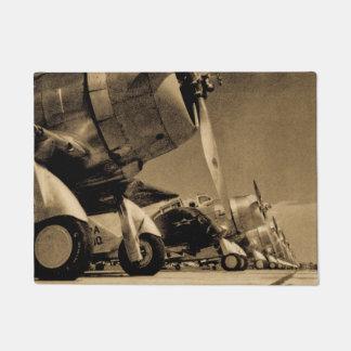 World War II Douglas SBD Dauntless Bomber Planes Doormat