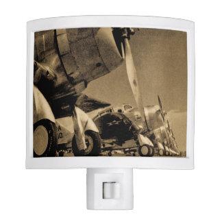 World War II Douglas SBD Dauntless Bomber Planes Nite Light
