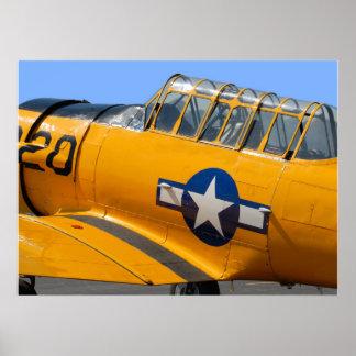 world war II fighter aircraft Poster
