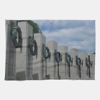 World War II Memorial Wreaths I Kitchen Towel
