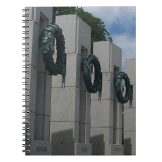 World War II Memorial Wreaths I Notebooks