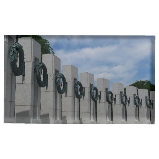 World War II Memorial Wreaths I Table Card Holders