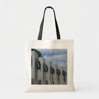 World War II Memorial Wreaths I Tote Bag