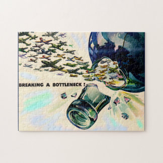 World War II military aviation breaking bottleneck Jigsaw Puzzle