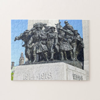 World war one and two monuments Ottawa Canada. Jigsaw Puzzle