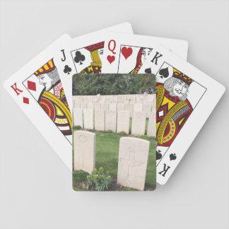 World War One War Graves Deck Playing Cards