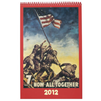 World War Poster Calendar 2012