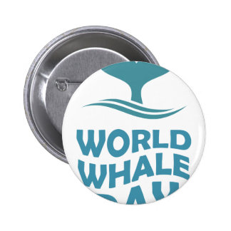 World Whale Day - 18th February - Appreciation Day 2 Inch Round Button