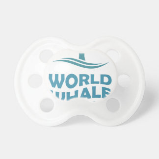 World Whale Day - 18th February - Appreciation Day Baby Pacifier