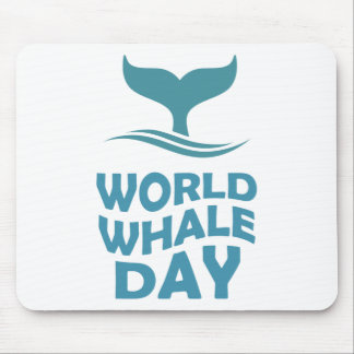World Whale Day - 18th February - Appreciation Day Mouse Pad