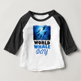 World Whale Day - Appreciation Day Baby T-Shirt