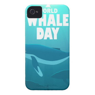 World Whale Day - Appreciation Day Case-Mate iPhone 4 Case