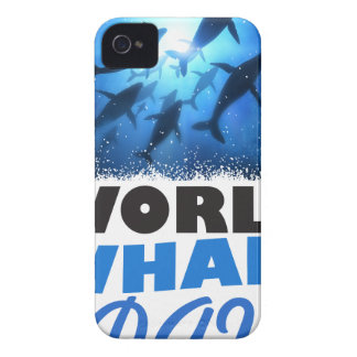 World Whale Day - Appreciation Day iPhone 4 Cases