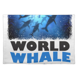 World Whale Day - Appreciation Day Placemat