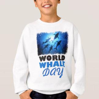 World Whale Day - Appreciation Day Sweatshirt