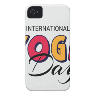World Yoga Day - Appreciation Day iPhone 4 Covers
