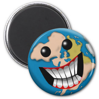 Worldly Smile Fridge Magnets
