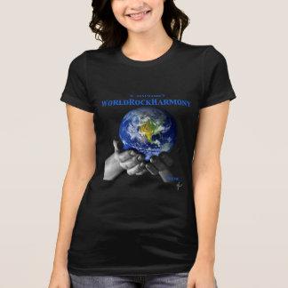 WORLDROCKHARMONY Jersey t-shirt