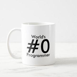 World's #0 Programmer Mug