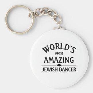 World's amazing Jewish Dancer Keychain