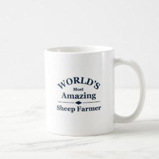 World's amazing Sheep Farmer Coffee Mug