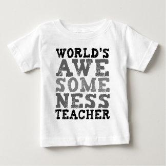 World's Awesomeness Teacher Baby T-Shirt