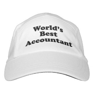 World's Best Accountant Hat