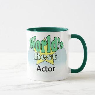 World's best actor mug