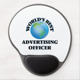 World's Best Advertising Officer Gel Mouse Pad