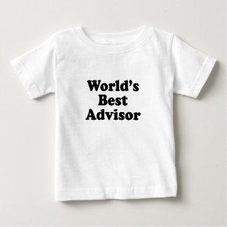 World's Best Advisor Baby T-Shirt