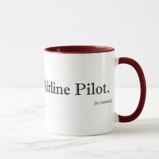 World's Best Airline Pilot. (in training) Mug