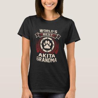 World's Best Akita Grandma T-Shirt