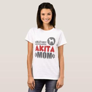 WORLD'S BEST AKITA MOM T-Shirt