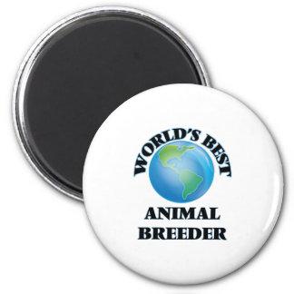 World's Best Animal Breeder Magnet