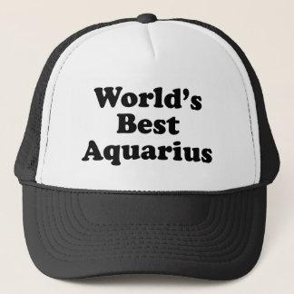 World's Best Aquarius Trucker Hat