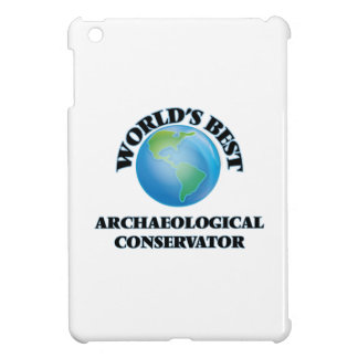 World's Best Archaeological Conservator iPad Mini Cover