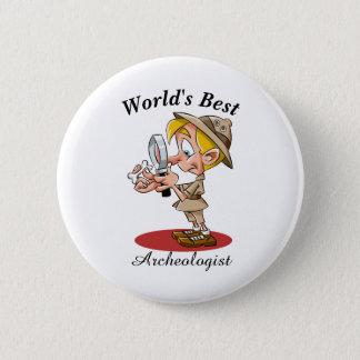 World's Best Archeologist 2 Inch Round Button
