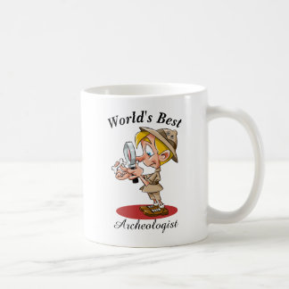 World's Best Archeologist Coffee Mug