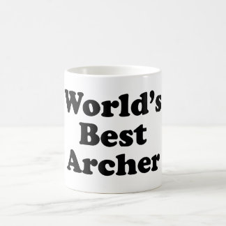 World's Best Archer Coffee Mug