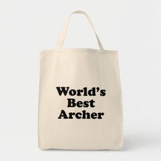 World's Best Archer Tote Bag